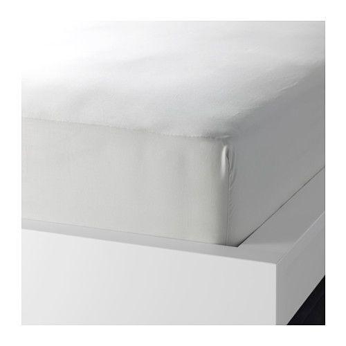SÖMNIG Spannbettlaken, hellgrau hellgrau 90x200 cm Schlafzimmer - schlafzimmer hellgrn
