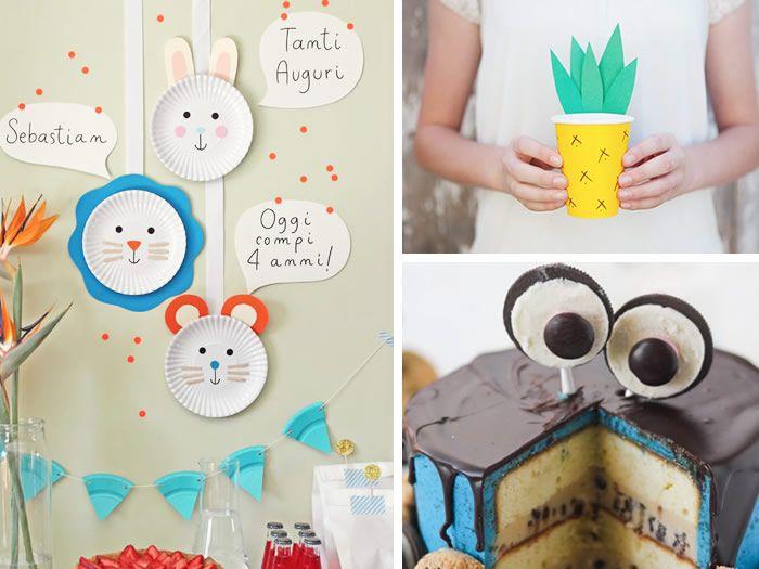 Manualidades para fiestas y cumplea os manualidades for Puertas decoradas de navidad trackid sp 006