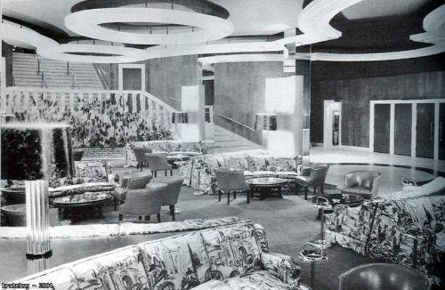 The Concord Hotel Kiamesha Lake New York Lobby 1960s