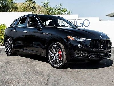 2017 Maserati Levante S 2017 MaseratiLevanteSZF 8 Speed Automatic23  MilesNero. Maserati Sports CarSports Cars