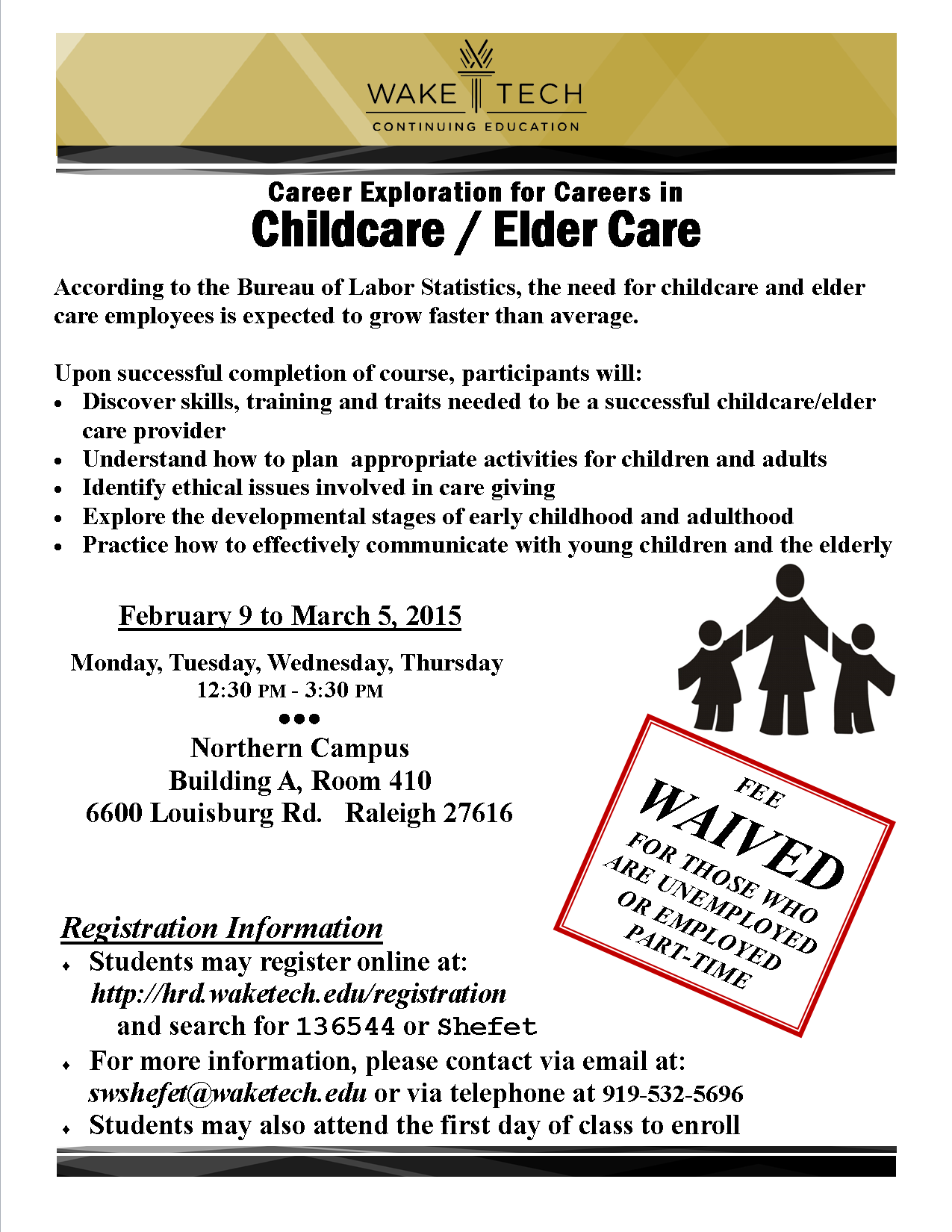 Check out career opportunities in Childcare and the