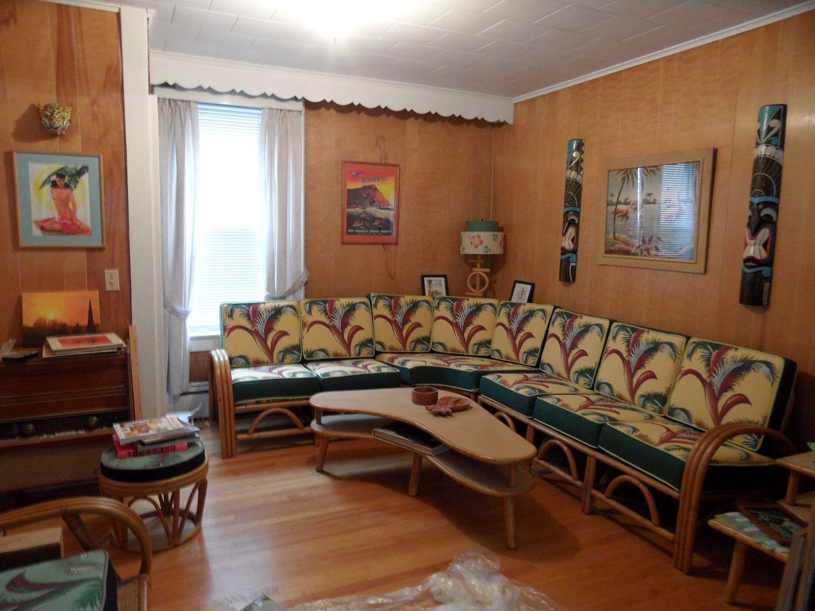 1950S Decor 1950S Atomic Tiki Decor  Nature Asid  Pinterest  Tiki Decor
