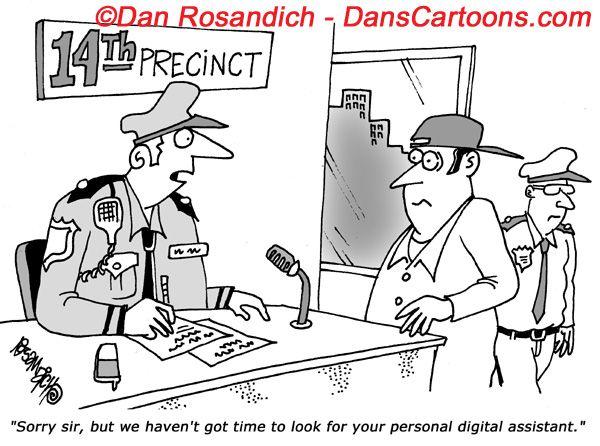 Law Enforcement Police Cartoon 2