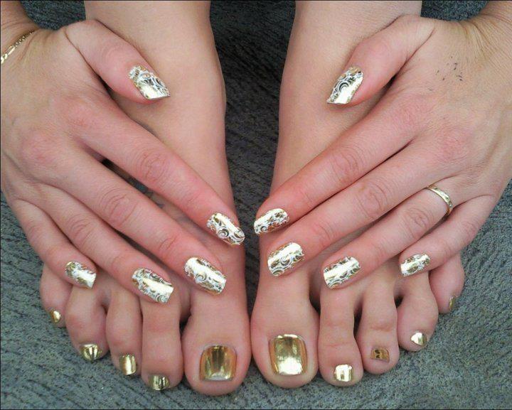 Nail foils beauty pinterest nail foil pedicure ideas and nail foils prinsesfo Gallery