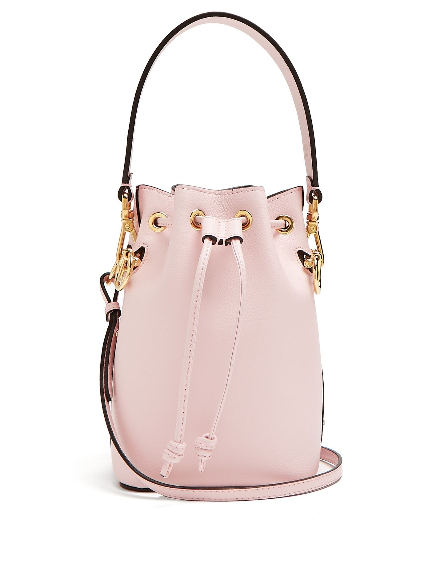 c888c755ca9c Mon Tresor leather bucket bag