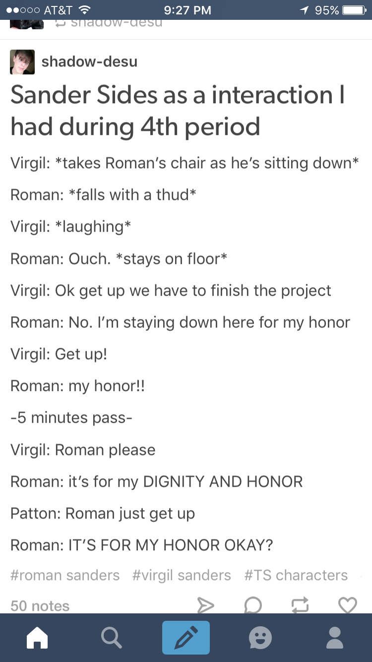 Can we just say one thing Virgil just said please