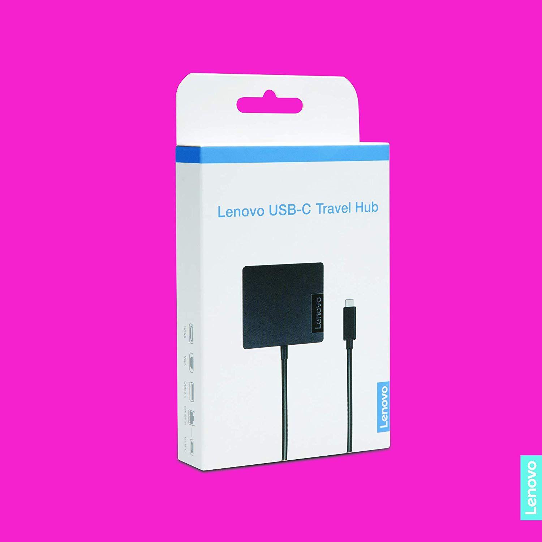 Amazon com: Lenovo USB-C 4 in 1 Travel Docking Station with HDMI