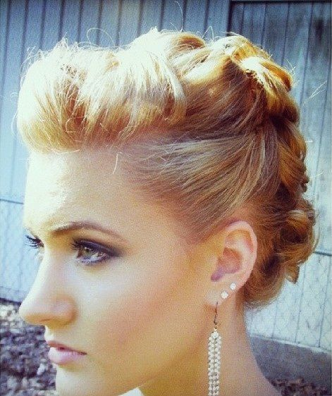 Casual Updos For Short Hair Are Perhaps The Most Mismanaged Worn By Women Too