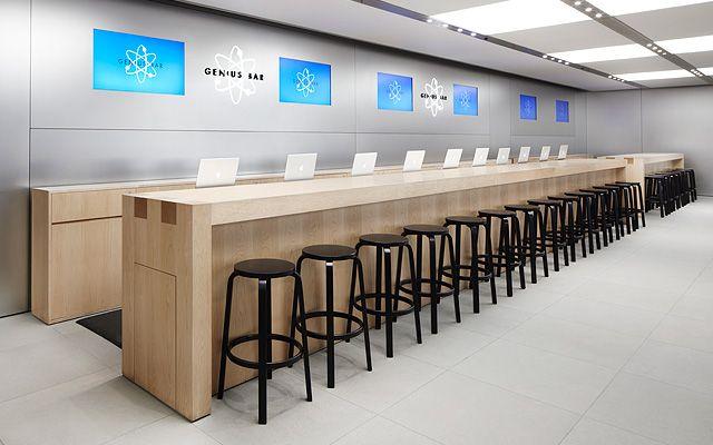 apple store fifth avenue new york 2006 bohlin cywinski jackson rh pinterest com apple store service desk apple app store help desk