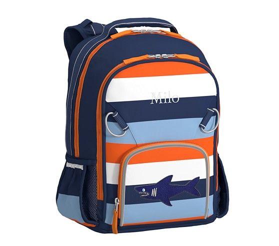 0ddc1f94ac Fairfax Navy Orange Multicolor Stripe Backpacks