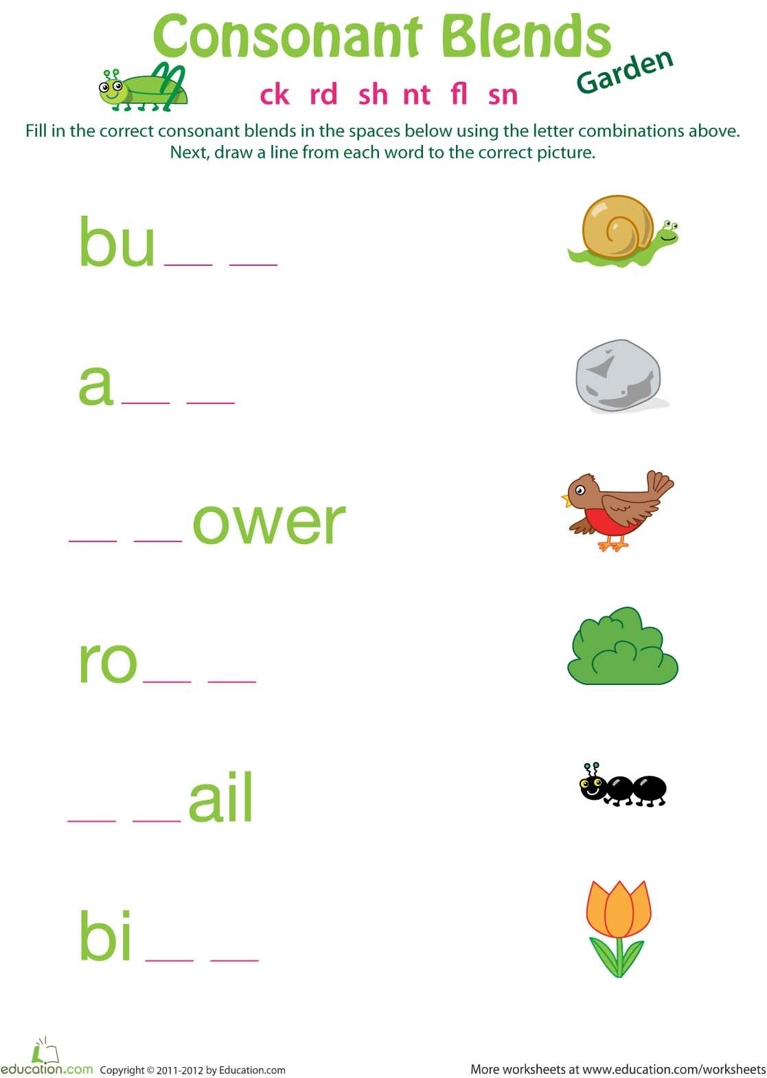 worksheet Blends Worksheets For Grade 1 pin by jc castilla on 1st grade spelling pinterest explore consonant blends worksheets and more