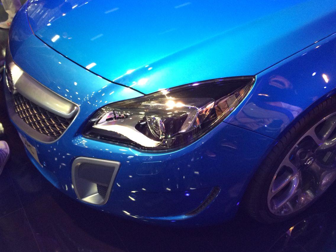 Opel Insignia OPC Istanbul Auto Show 2015