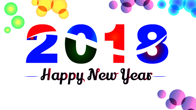 Free Download Animated New Year 2018 Image For Celebration | http ...
