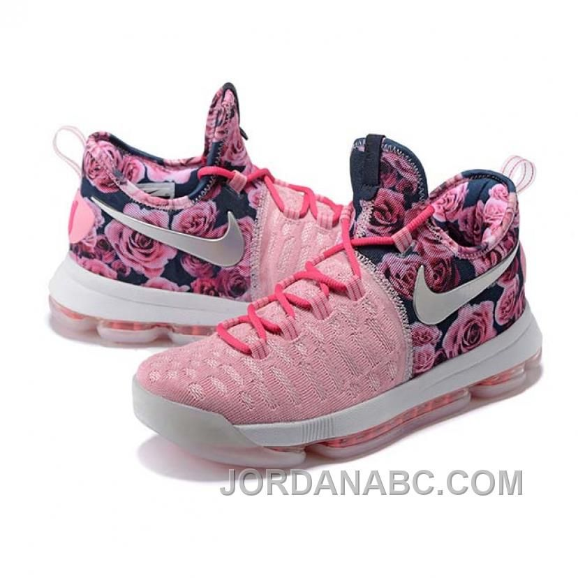 Kevin Durant KD 9 Breast Cancer Pink Basketball Shoes Christmas ...