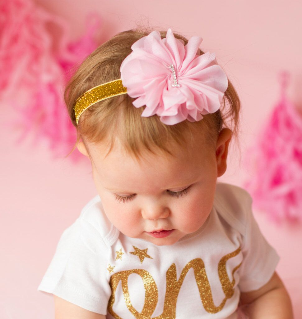 A personal favorite from my Etsy shop https://www.etsy.com/listing/216605851/pink-and-gold-headband-pink-and-gold