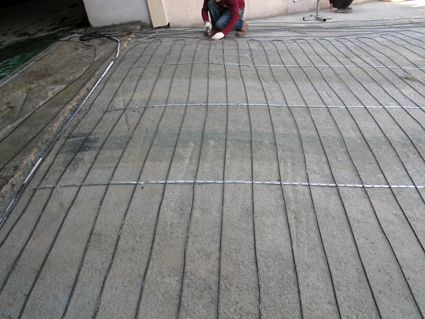 Heatizon Hott Wire MI Cable Snow Melt Heated Driveway System