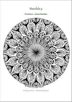 kostenlose malvorlagen mandala erwachsene pdf | aglhk