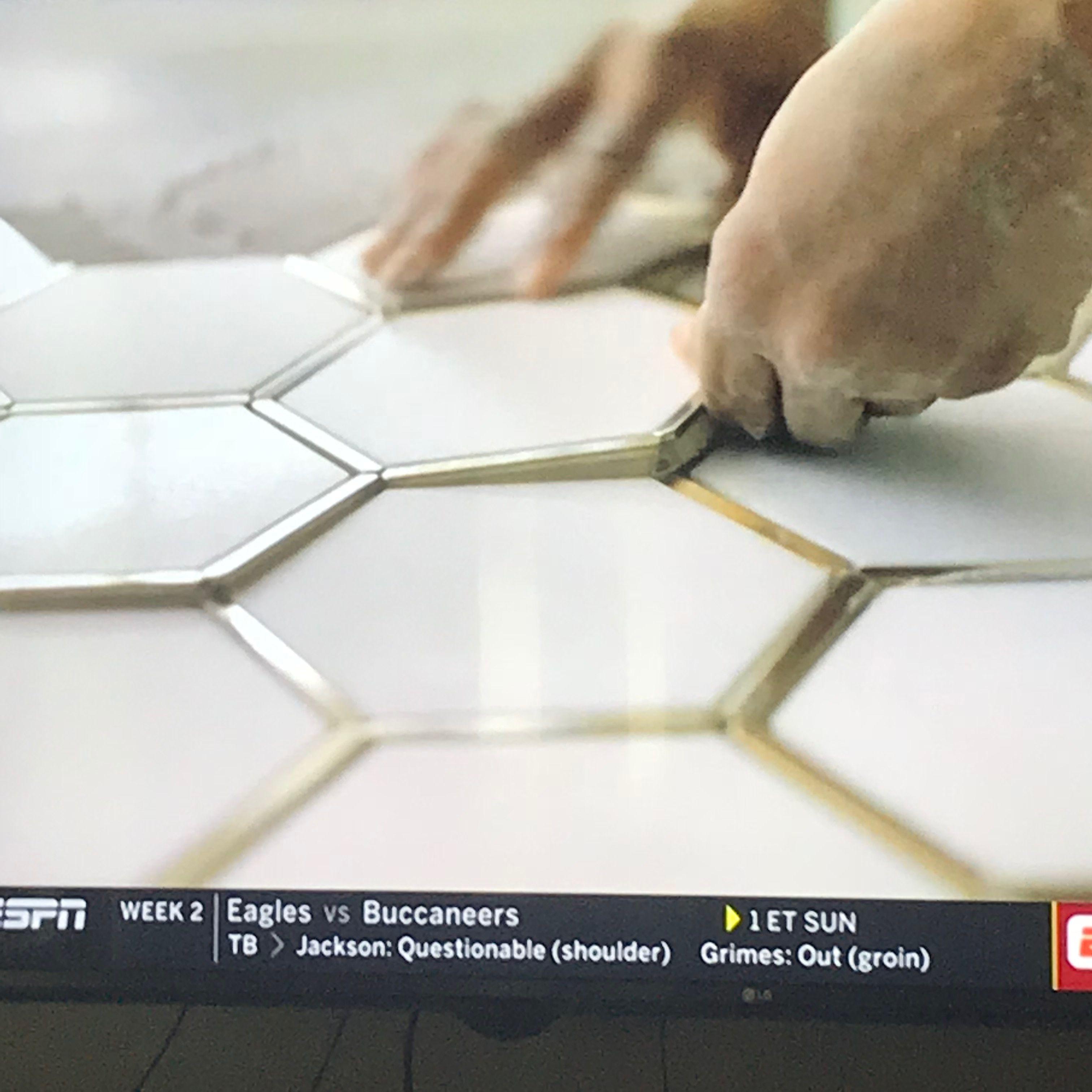 tile with gold trim metallic tiles