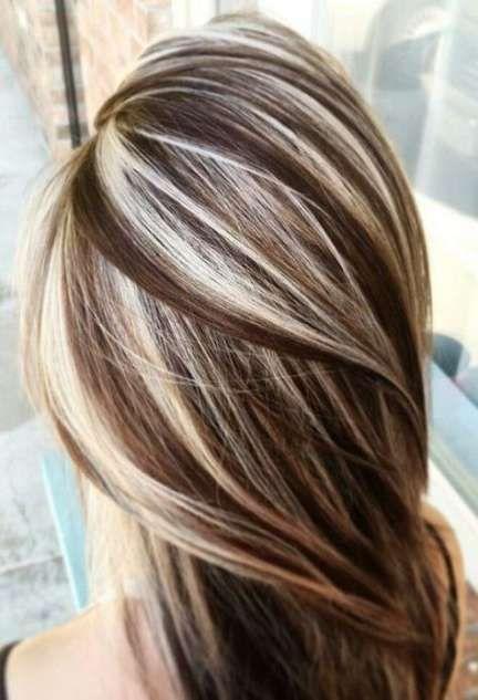 Photo of Trendy Haarfarbe blond und braun hebt schwache Lichter Haarfarbe 29 Ideen