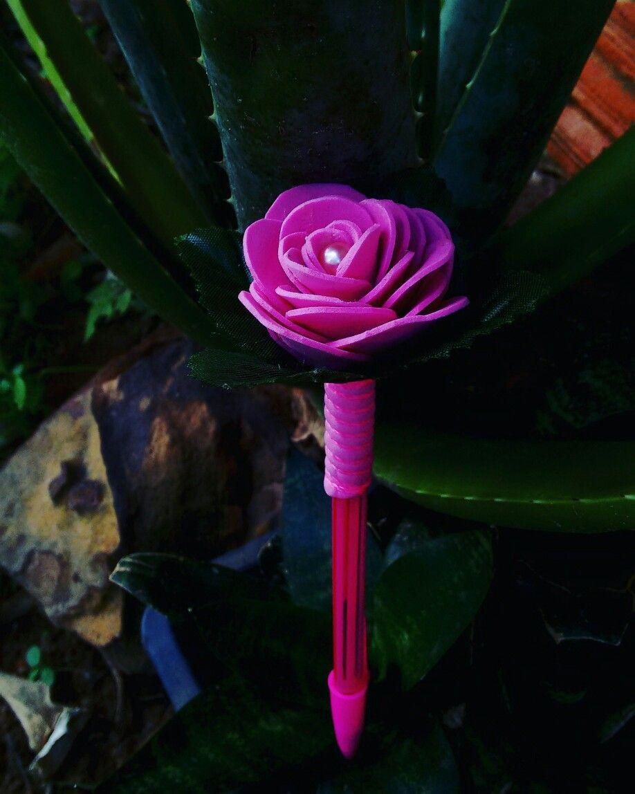 Caneta flor