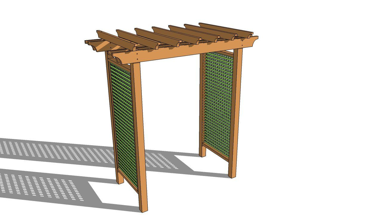 Free Arbor Plans With Images Woodworking Plans Free Garden