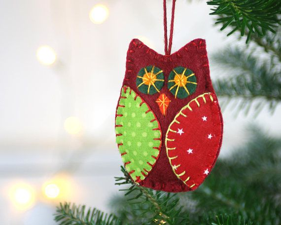 Last Order Dates For Christmas Delivery Australia Canada Row 5th Dec Usa 10th Dec Uk And Eu In 2020 Handmade Felt Ornament Christmas Ornaments To Make Felt Owl