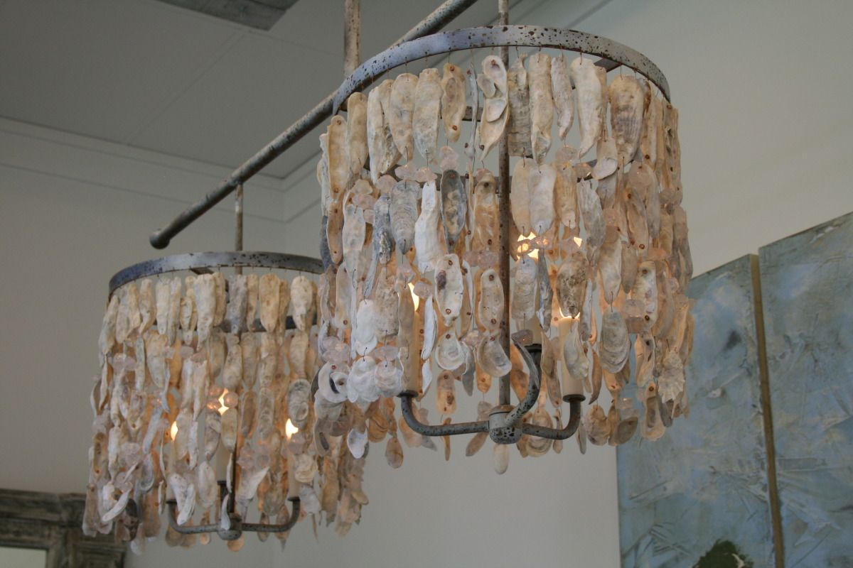 Beauhomeinteriors lighting oyster shells i like pinterest beauhomeinteriors lighting oyster shells mozeypictures Images
