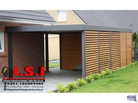 Imagen 1 cocheras techos y aleros techo policarbonato - Techos para garajes ...