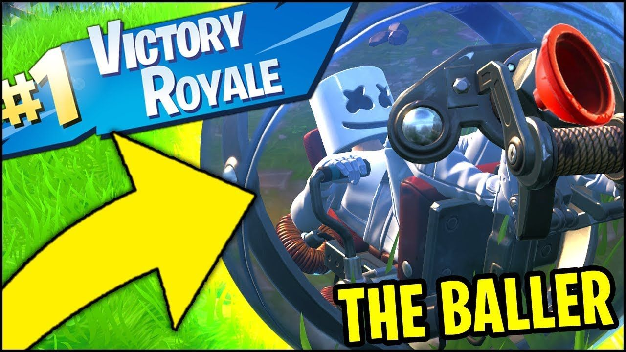 FORTNITE THE BALLER VICTORY ROYALE GAMEPLAY (*ALL