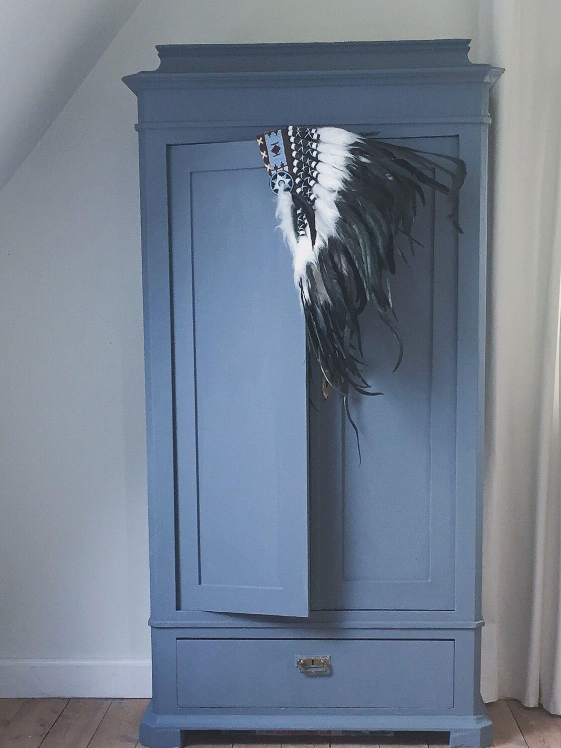 blåt karlekammerskab | Drengeværelse | Pinterest | Lille, Chambre ...