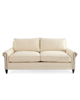 Incredible Ellsworth Neutral Loveseat Horchow Likes Old Hickory Gmtry Best Dining Table And Chair Ideas Images Gmtryco