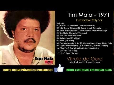 Tim Maia 1971 Disco Completo Vitrola De Ouro Youtube