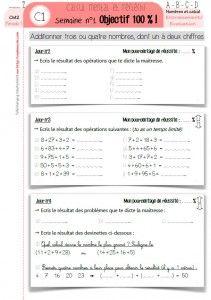 Mathematiques Cm2 Une Annee De Calcul Mental Cycle 3 Orpheecole Calcul Mental Calcul Mental Cm1 Calcul Mental Ce1