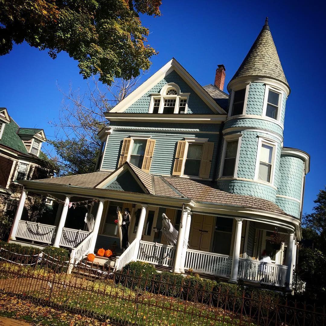 House Victorian Haddonfield New Jersey Victorian Homes Historic Homes Old Victorian Homes