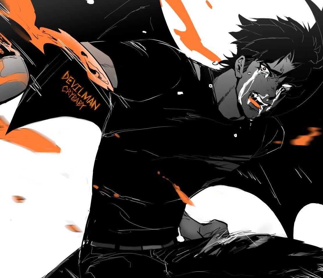Akira Fudo Devilman Devilman Crybaby Cry Baby Akira
