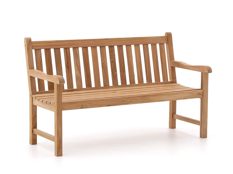 Amazon De Sunyard Stabile Gartenbank Wales Aus Massivem Unbehandeltem Holz Teakholz 2 Sitzer 120 Cm Teakholz Gartenbank Gartenbank Teak