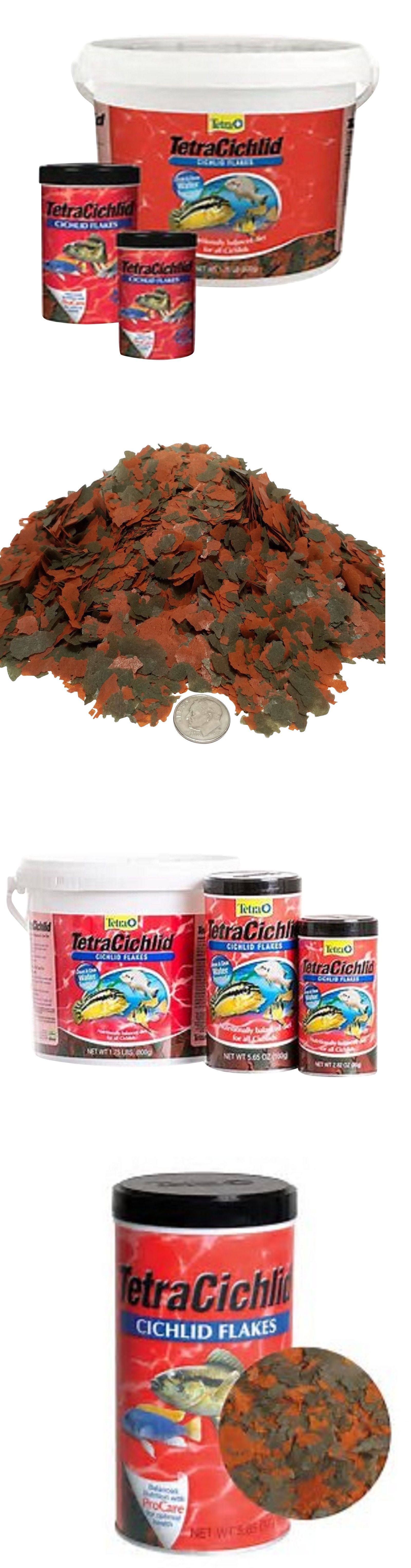 Details about tetra min cichlid flakes by tetramin in