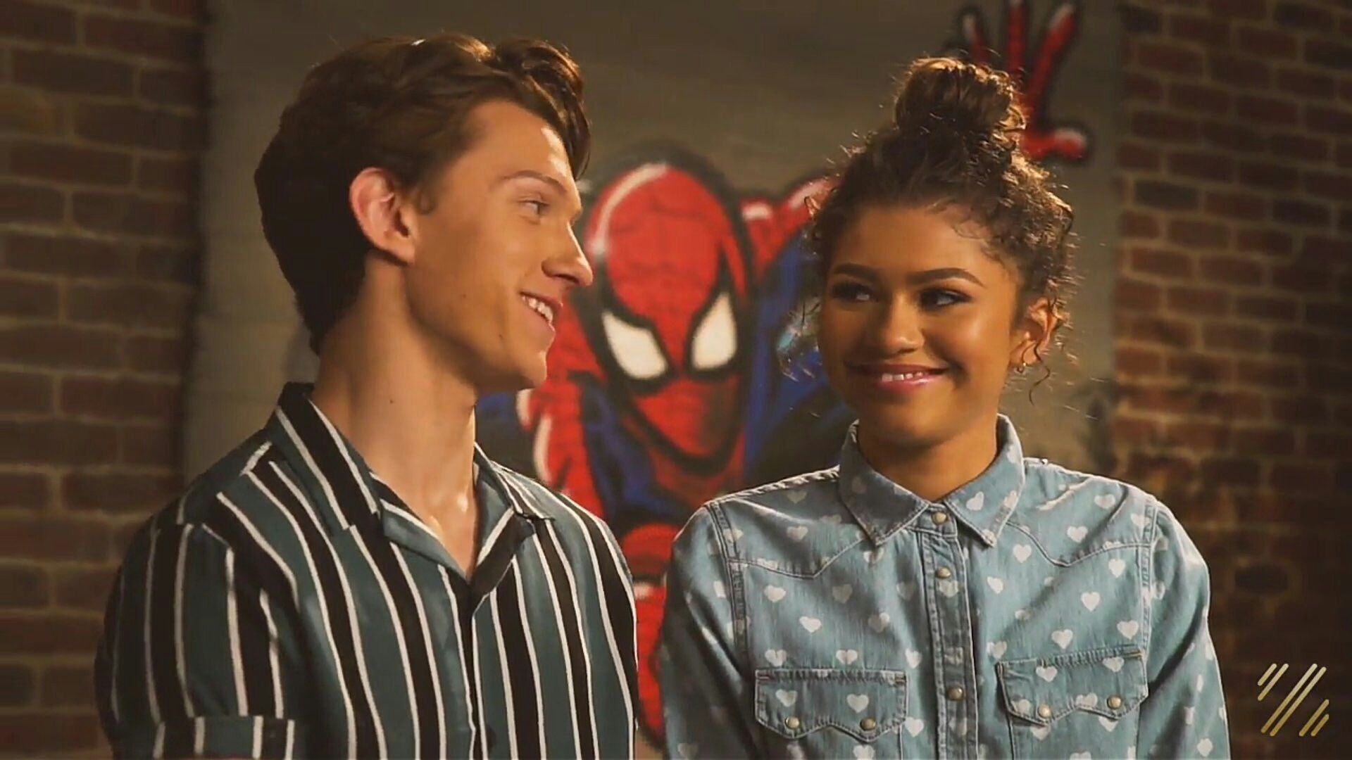Spiderman-homecoming (Michelle Jones And Peter Parker