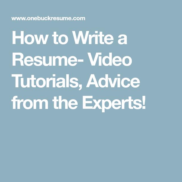 Resume writing experts quiz