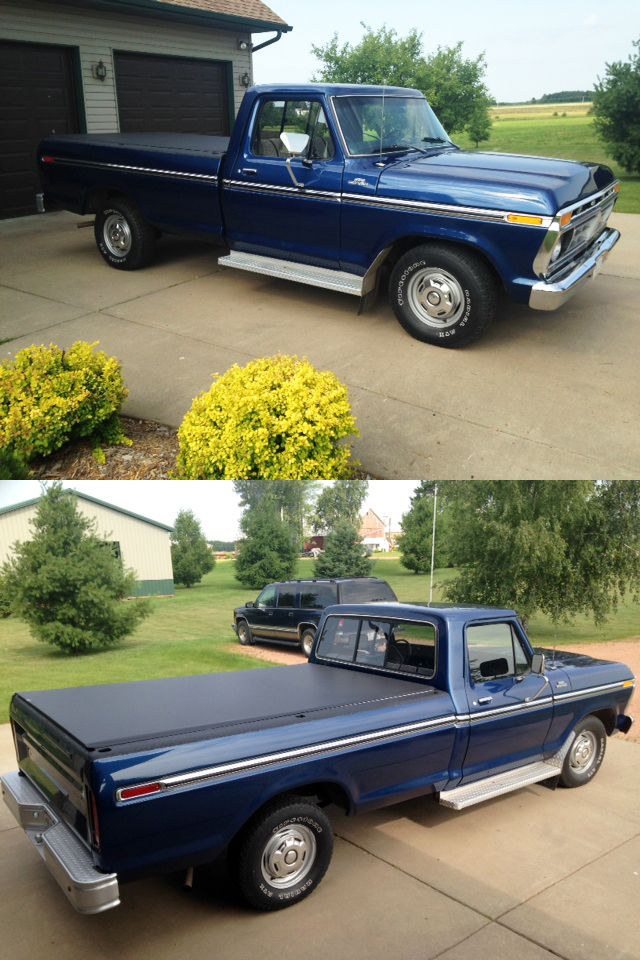 John B Sent Us These Photos Of His 1977 Ford F 150 With Our Cover