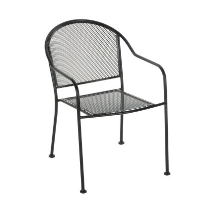 Living Accents Seville Wrought Iron Chair - Outdoor Dining Chairs - Ace  Hardware | $36.99 - Living Accents Seville Wrought Iron Chair - Outdoor Dining Chairs