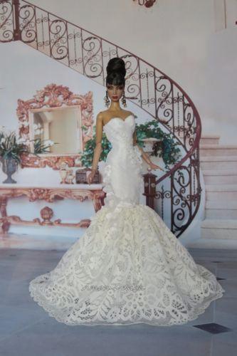 Amon-Diseno-Vestido-Traje-De-Vestido-Fashion-Royalty-Cali-Barbie-Modelo-Muneca-FR