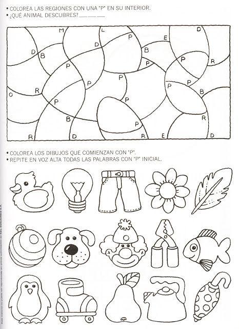 actividades para trabajar la letra P | Primeros grados | Pinterest ...