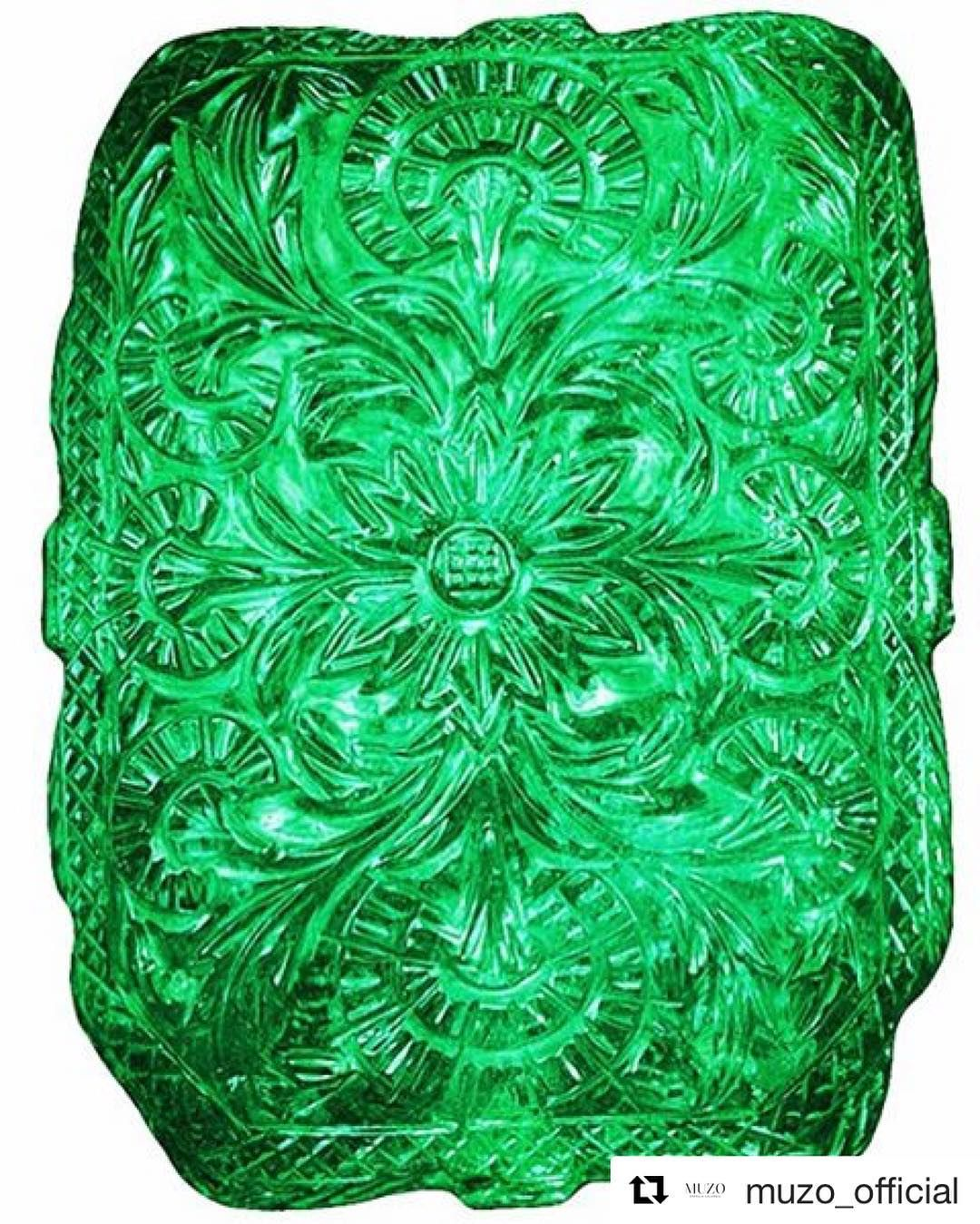 The magnificent Mughal Emerald is one of the largest in the world ...