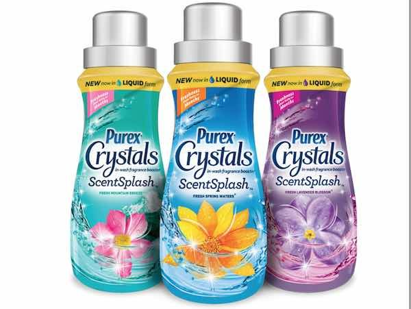 Free Purex Crystals Scent Splash Fabric Booster After Mail In Rebate Mojosavings Com Purex Crystals Purex Purex Coupons