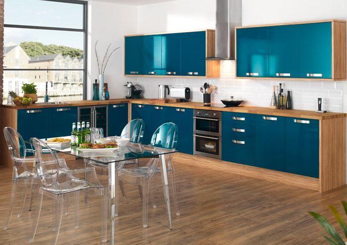 Turquoise Kitchen Simple Kitchen Design Modular Kitchen