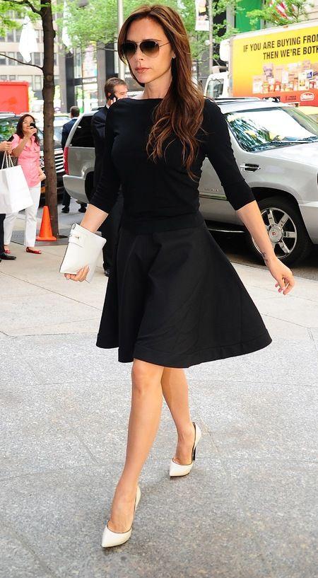 Victoria Beckham | All black | Pinterest | Victoria beckham ...