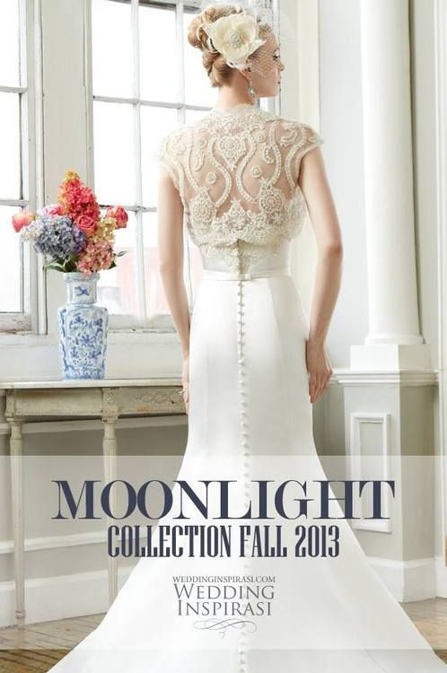 Moonlight Collection Fall 2013 Wedding Dresses. @ http://weddinginspirasi.com/2013/05/20/moonlight-collection-fall-2013-wedding-dresses/
