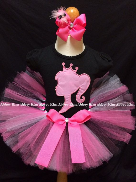 Barbie tutu set by Abbeykim1 on Etsy
