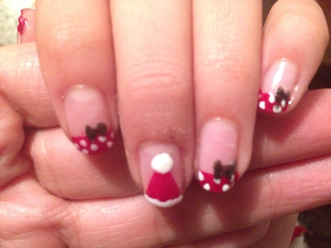 disney christmas - Disney Christmas Nails